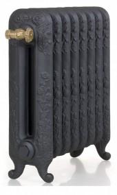 Чугунный радиатор GuRaTec Diana 590/05 прох.1/2 Mattschwarz