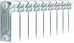 Биметаллический радиатор RIFAR Base 200, 9 секций
