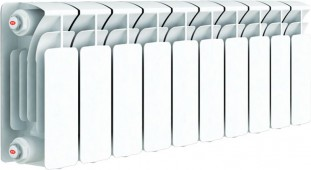 Биметаллический радиатор RIFAR Base 200, 10 секций