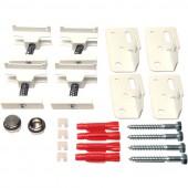 Комплект настенных кронштейнов для трубчатых радиаторов Purmo Delta