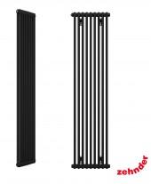 """Zehnder Z-2180/09 N12 3/4"""" чёрный вертикальный радиатор RAL 9217 matt"""