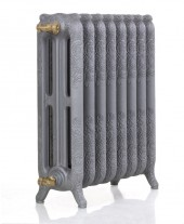 Чугунный радиатор GuRaTec Apollo 765/07 GussGrau (серый чугун)