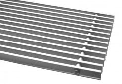Решетка 111D/200×800 для внутрипольных конвекторов IMP Klima, цвет алюминия.